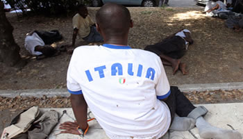 Image result for africans in Italy